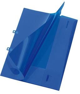 Angebotsmappe Crystal, A4, für ca. 30 Blatt, blau
