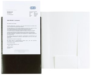 Angebotsmappe image +, A4, für ca. 50 Blatt, schwarz